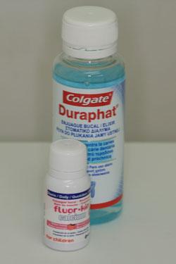Fluoración dental